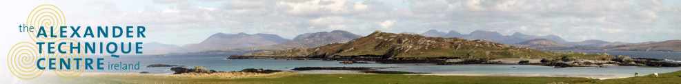 Panoramic view from Inishbofin island, Co Galway, Ireland