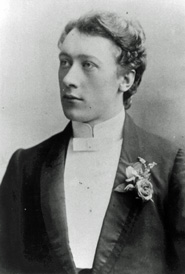 Picture of F. M. Alexander as a young man